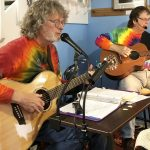 Live Musicians at the Luna Sea Fresh Seafood Restaurant in Yachats