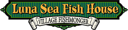 Logo for the Luna Sea Fish House and Village Fishmonger, the Best Yachats Restaurant