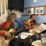 Musicians Playing Live Music at Our Yachats Oregon Restaurant
