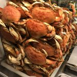 Crabs Being Prepared to Serve at the Best Yachats Restaurant, Luna Sea Fish House